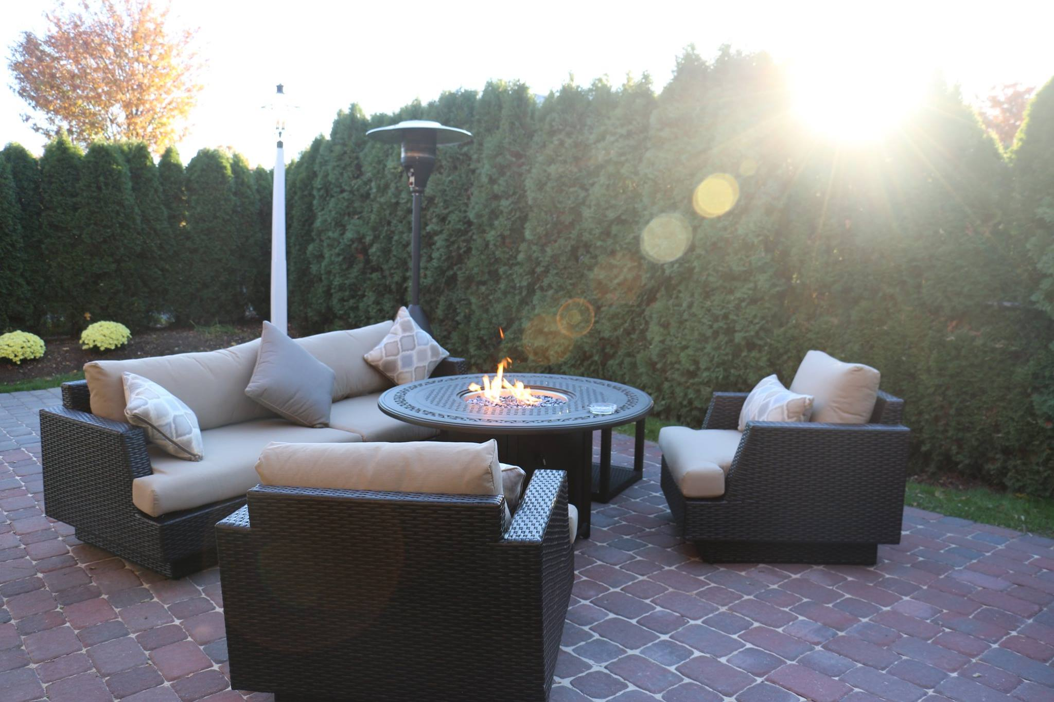 The Inn At Leola Village, A Historic Hotel of America | Leola | Fire Pit Seating