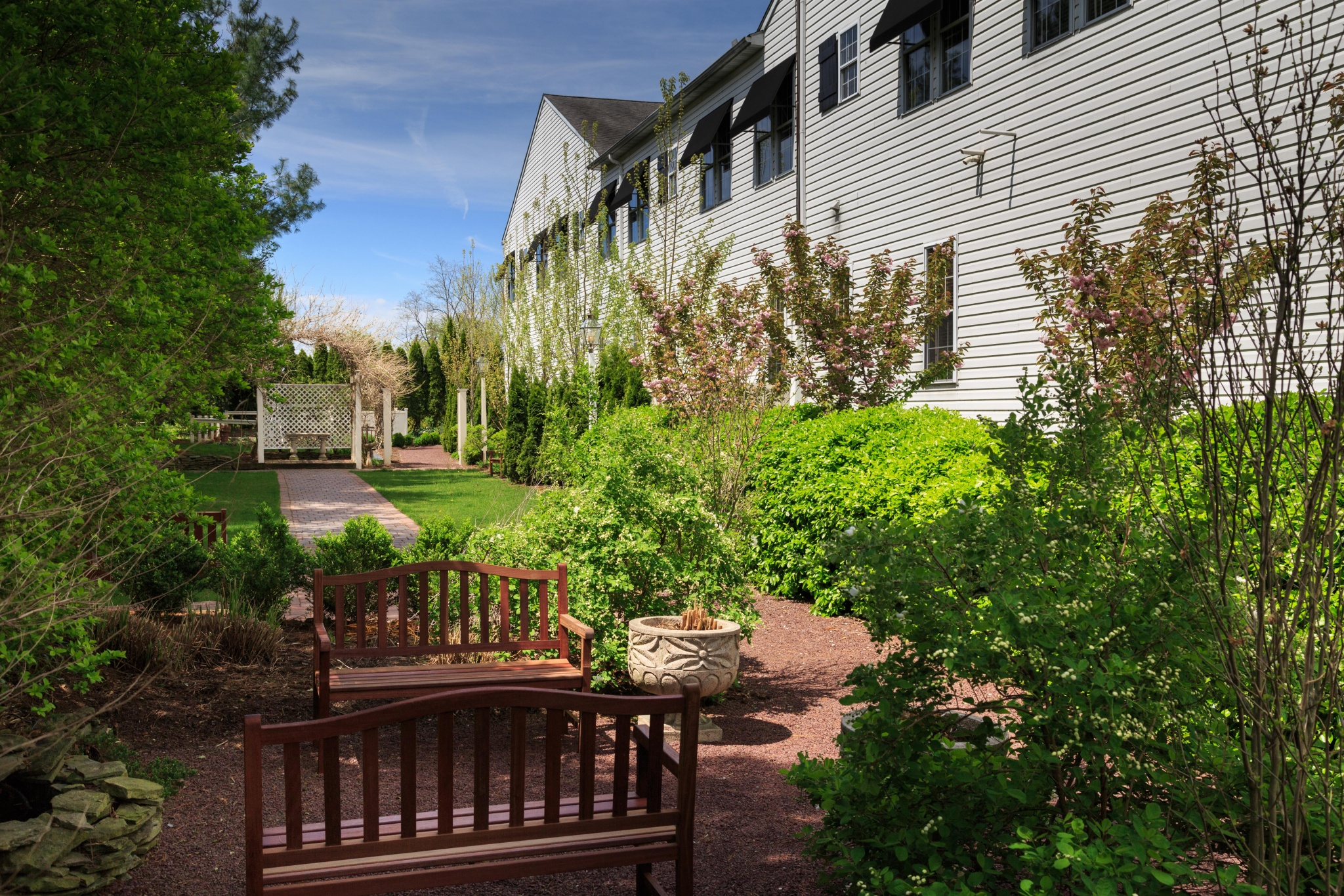 The Inn At Leola Village, A Historic Hotel of America | Leola | Garden