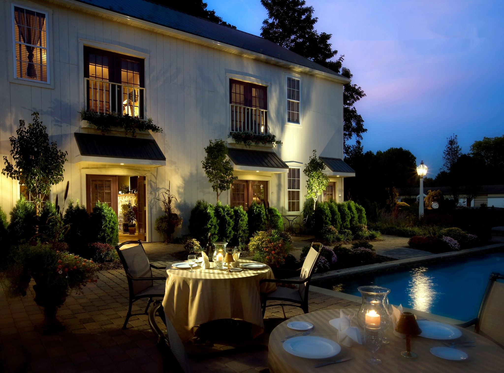 The Inn At Leola Village, A Historic Hotel of America | Leola | Pool and Patio